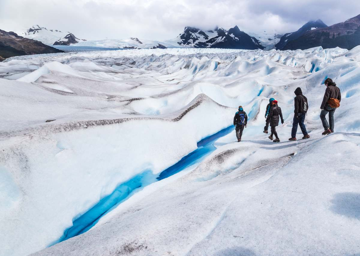 Trekking στο Perito Moreno glacier