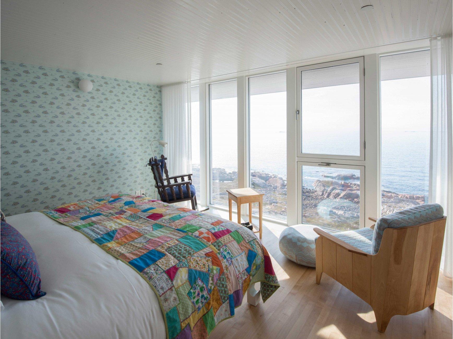 Fogo Island Inn καναδάς δωμάτιο με θέα στον ωκεανό