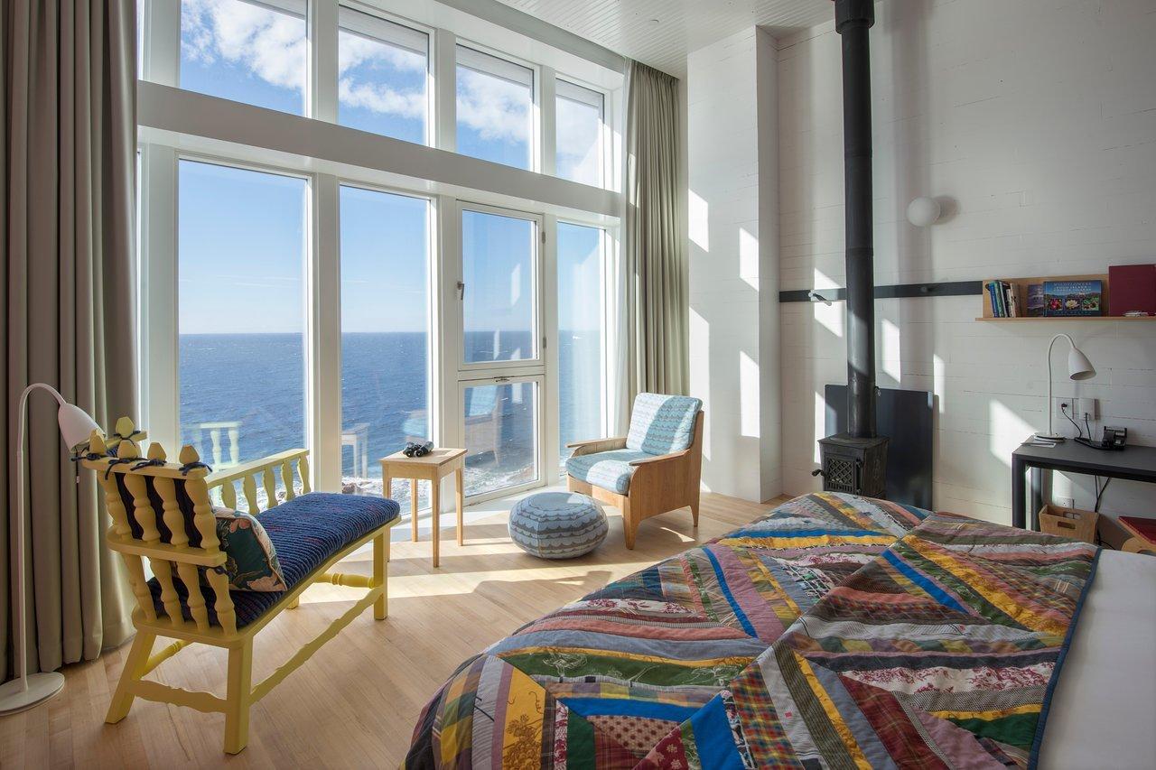 Fogo Island Inn καναδάς πολυτελή δωμάτια