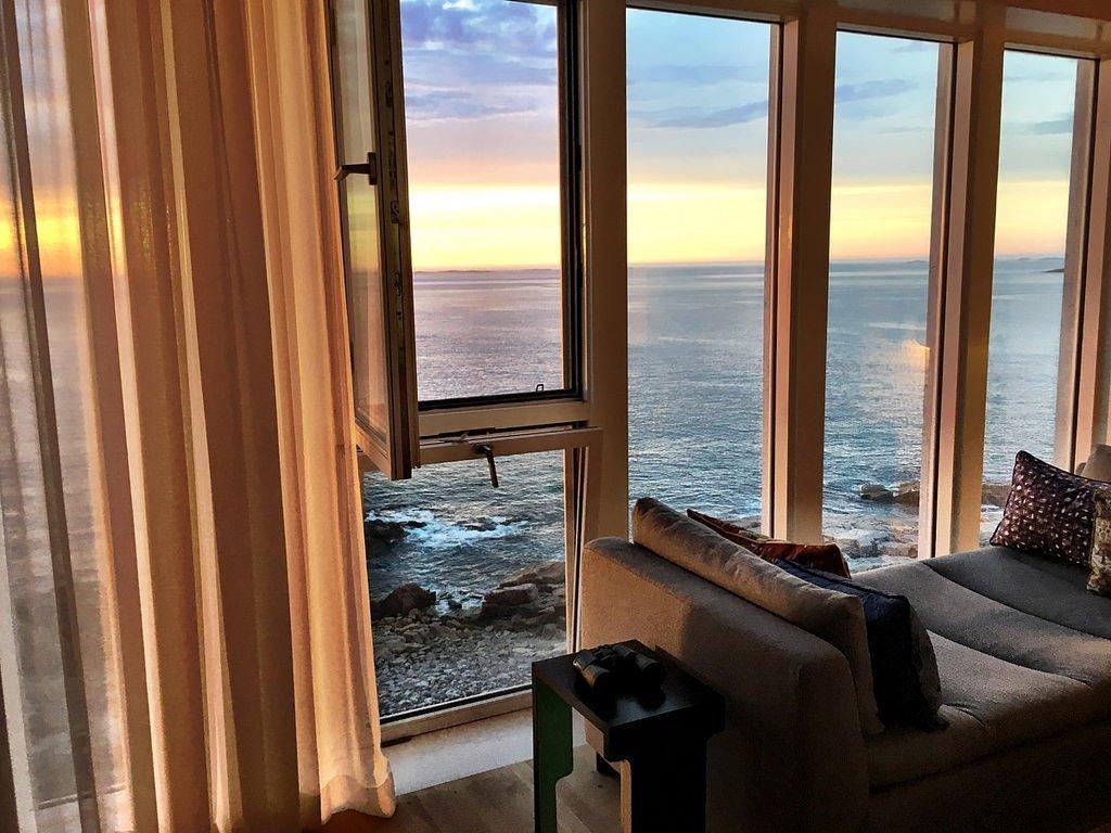 Fogo Island Inn καναδάς υπέροχη θέα από τα δωμάτια