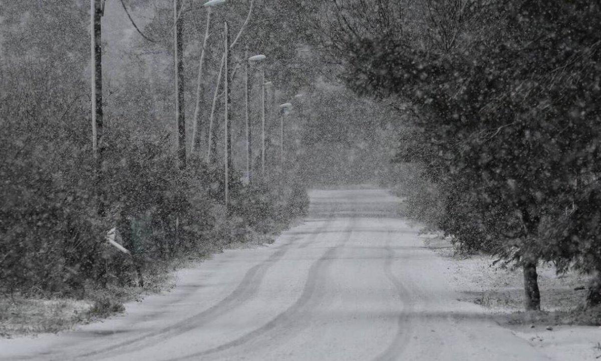 κακοκαιρία χιόνια