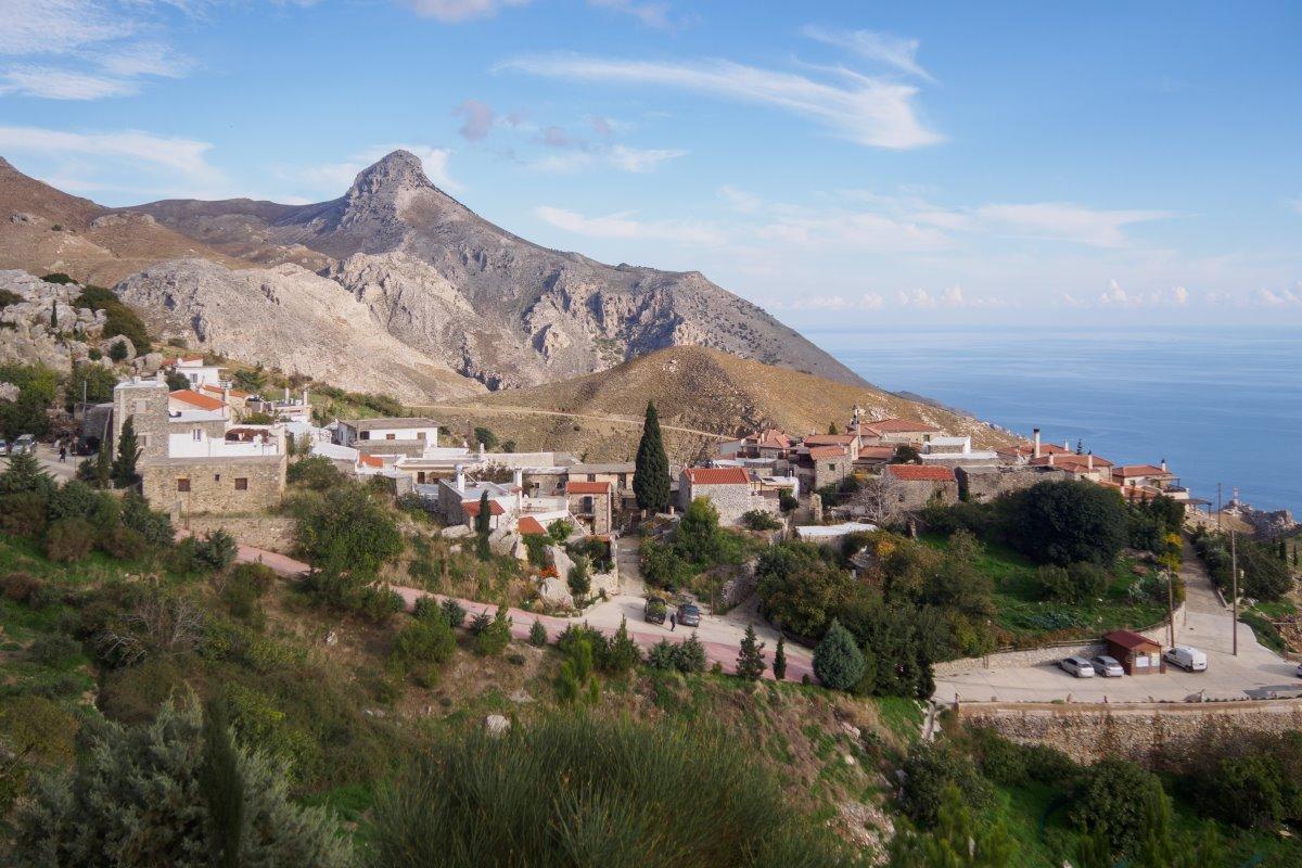 Καπετανιανά Κρήτης ορεινό χωριό