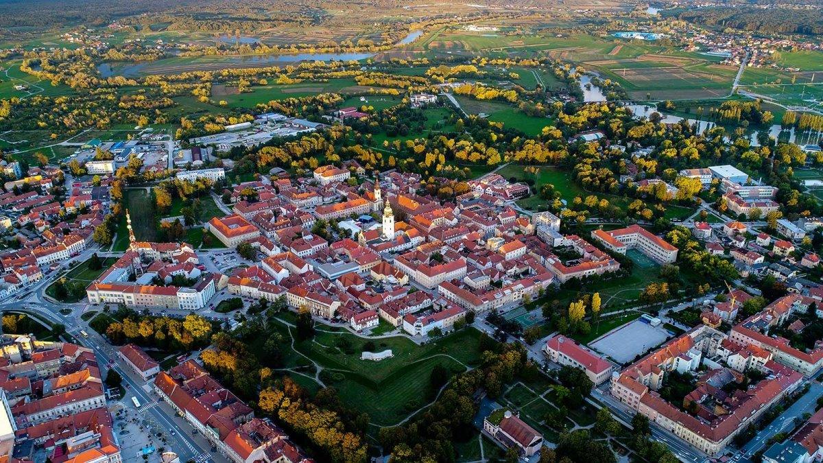 Karlovac πόλη-αστέρι Κροατία