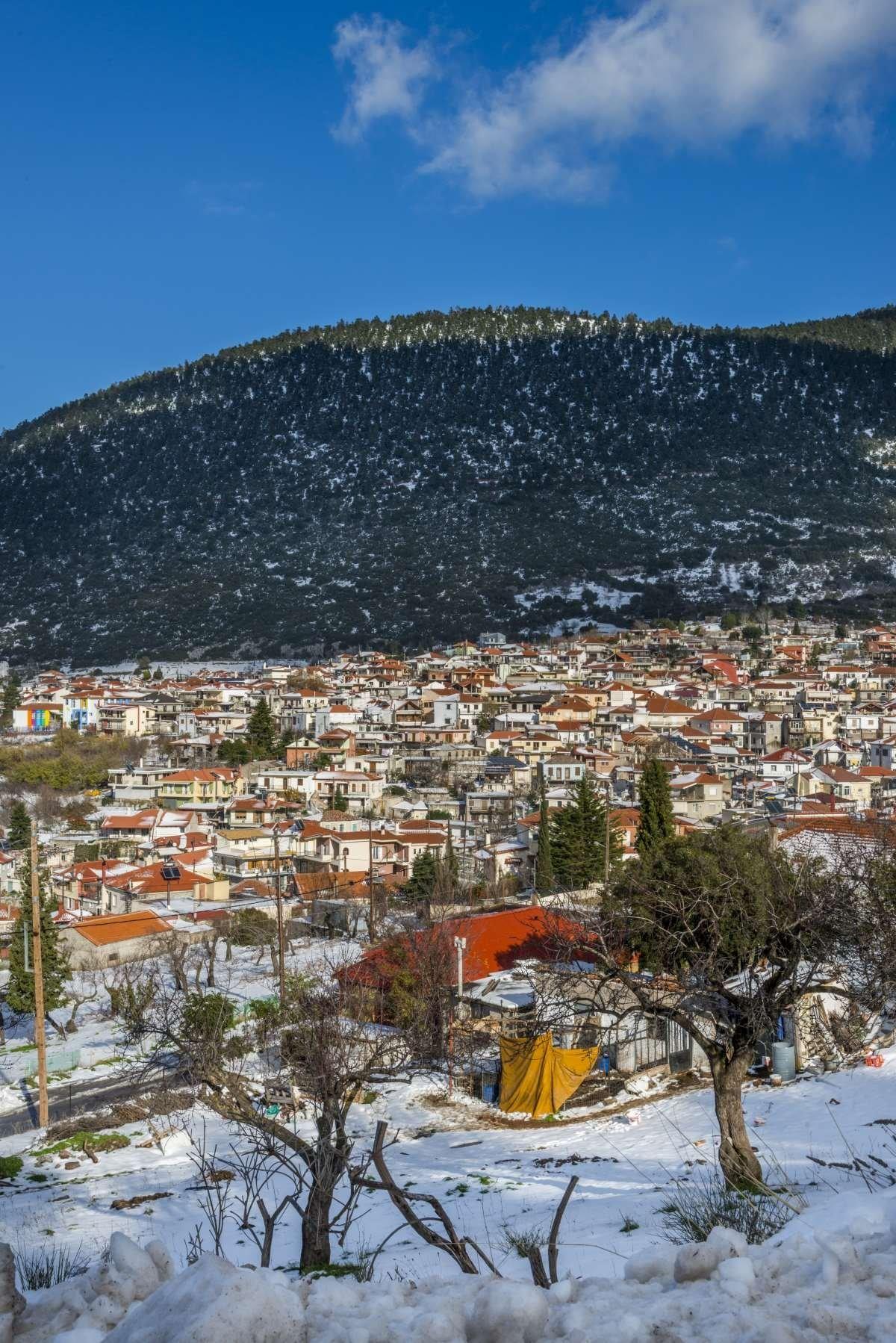 χωριά Παρνασσού Κυριάκι