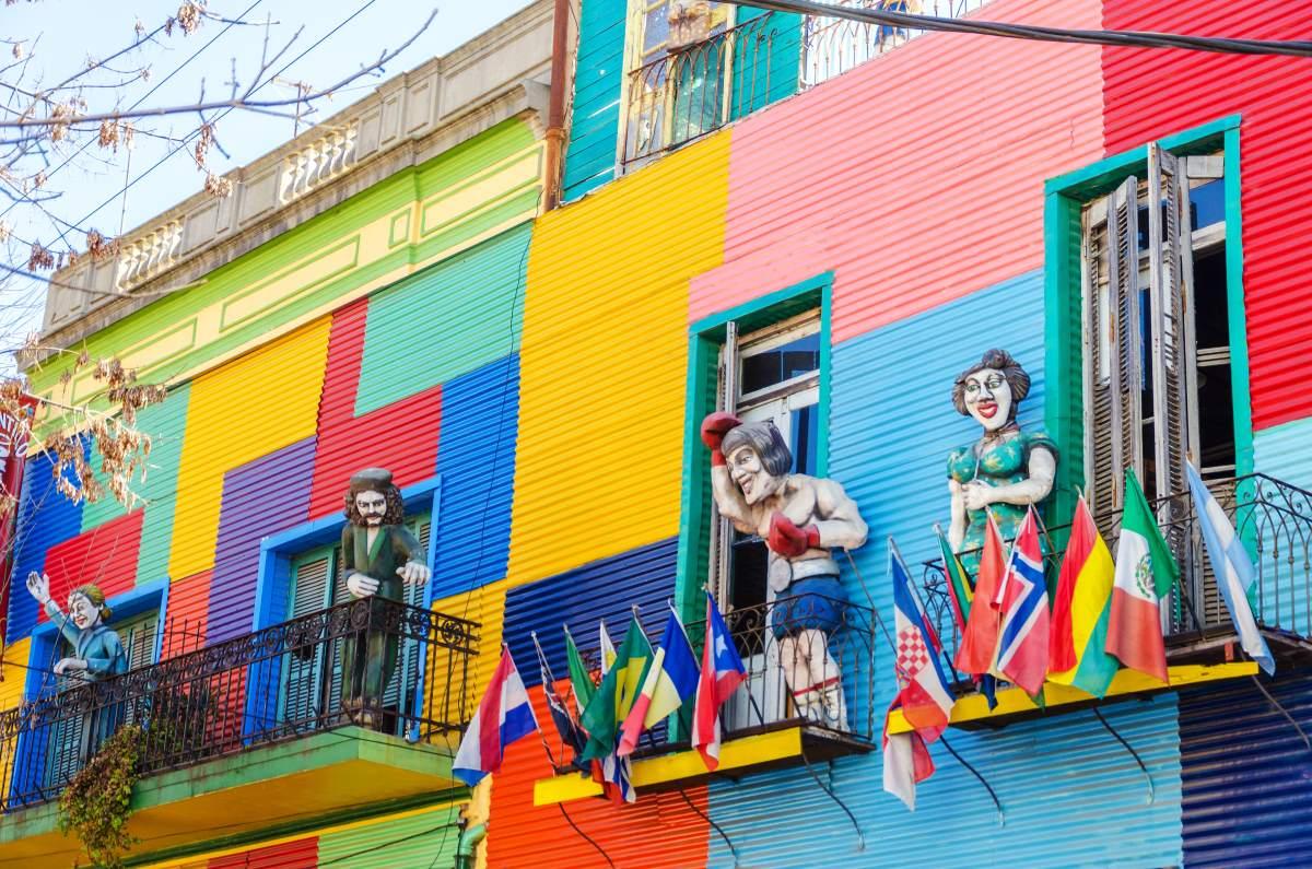 La Boca, γειτονιά στο Μπουένος Άιρες