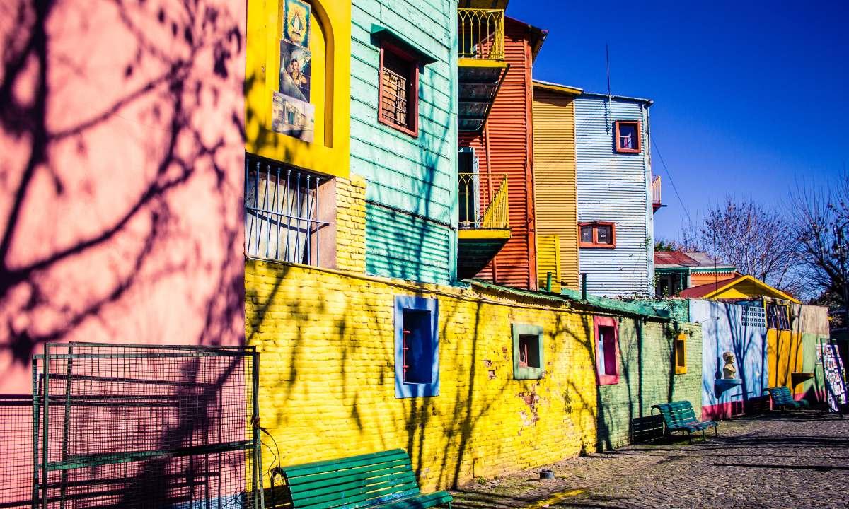 La Boca η πιο πολύχρωμη γειτονιά του κόσμου