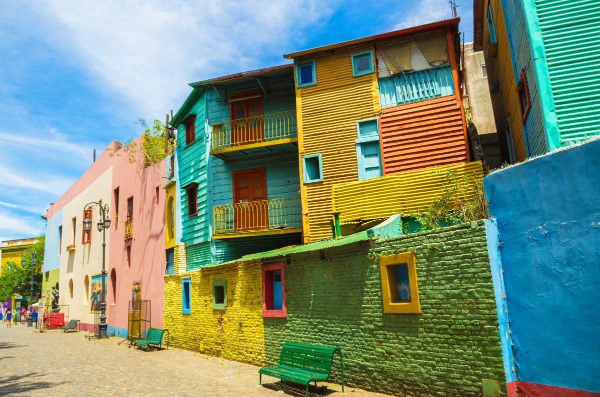 La Boca, η πιο χρωματιστή γειτονιά