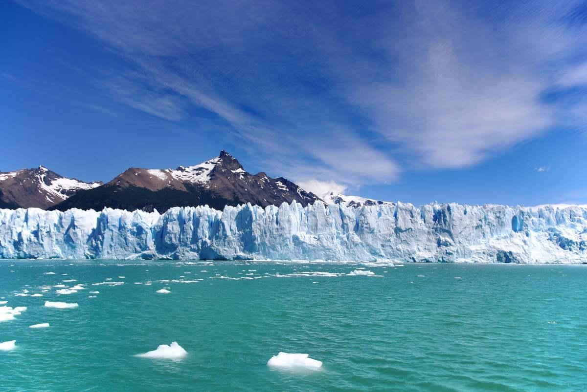 Ο παγετώνας στην λίμνη Argentino