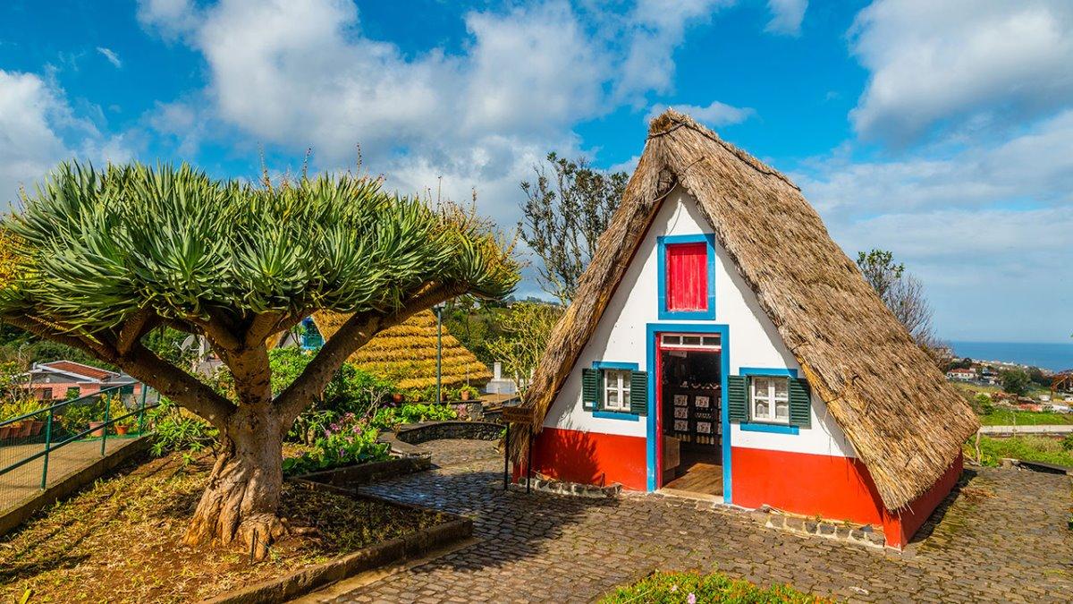 Μαδέρα παραδοσιακά σπίτια