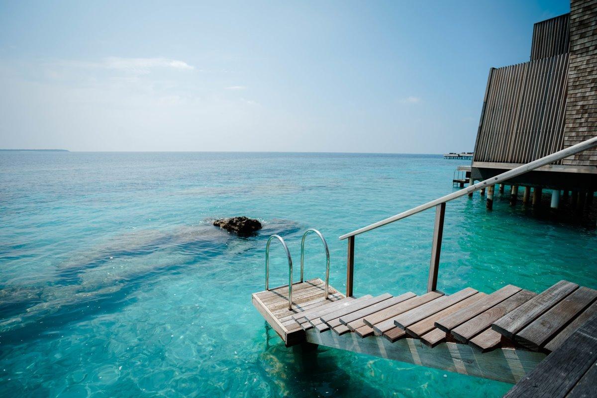 Μαλδίβες καλύτερο spa στον κόσμο τα δωμάτια του resort