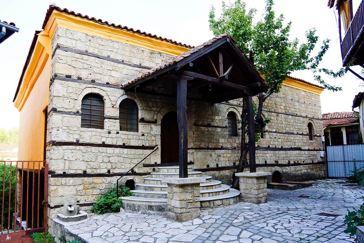Η εβραϊκή συναγωγή στην Μπαρμπούτα Βέροιας