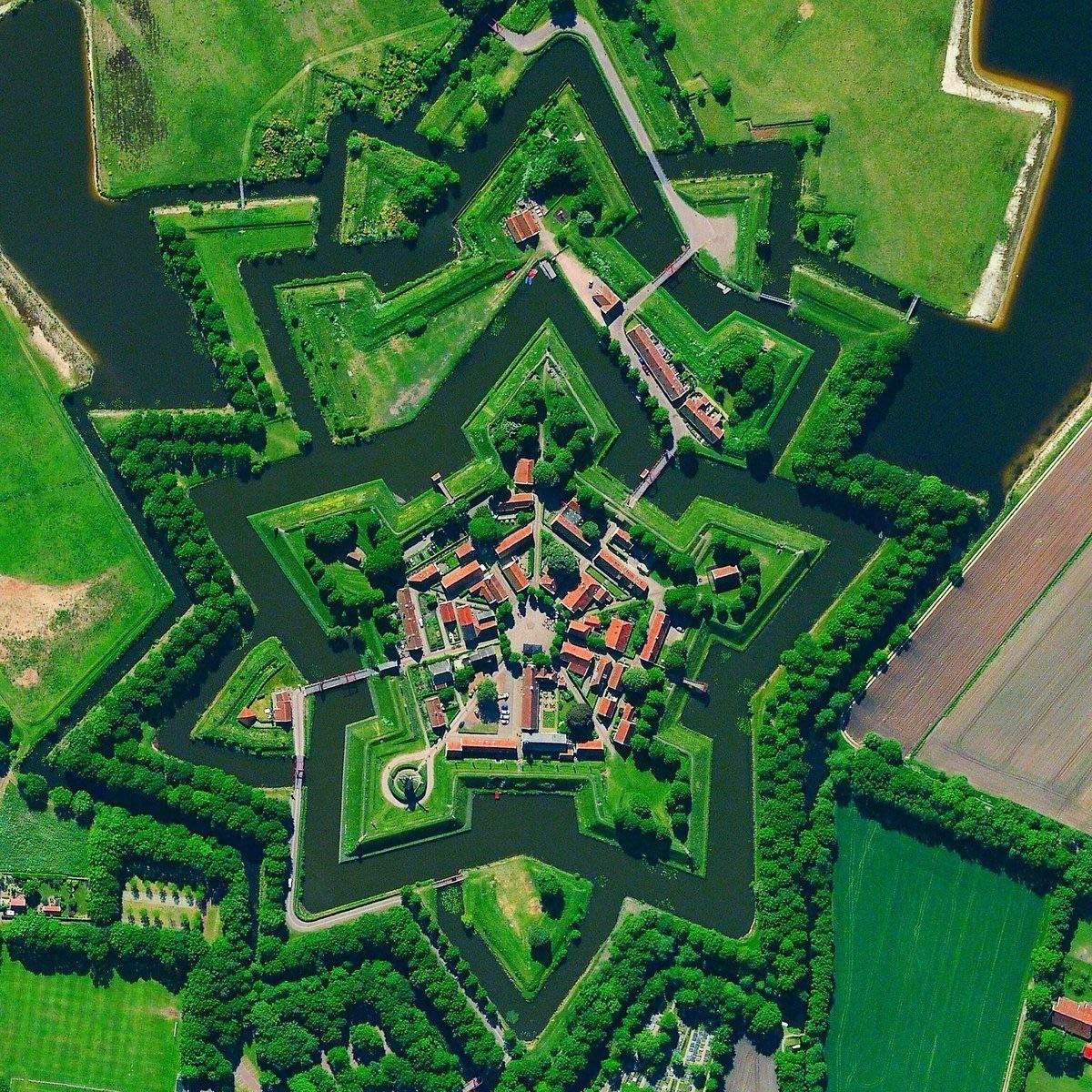 Naarden Ολλανδία πανοραμική