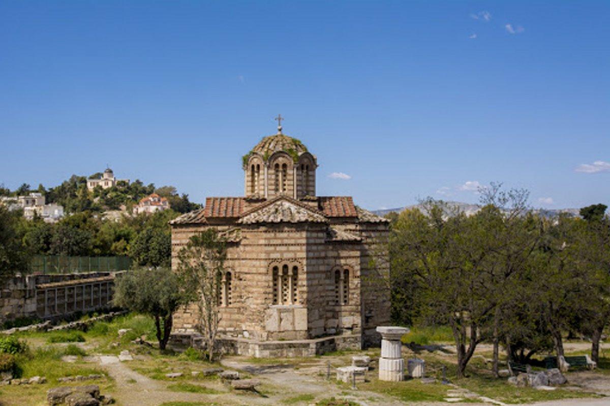 Ναός Αγίων Αποστόλων Αθήνα προστατευόμενο μνημείο