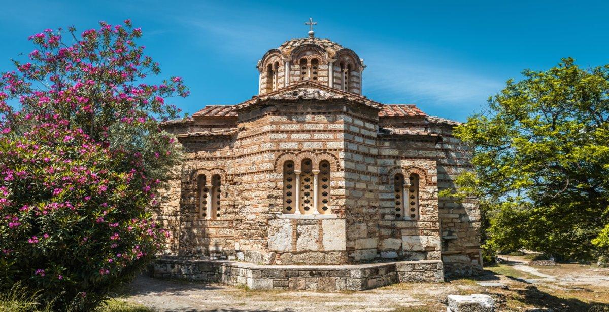 Ναός Αγίων Αποστόλων Αθήνα βυζαντική εκκλησία