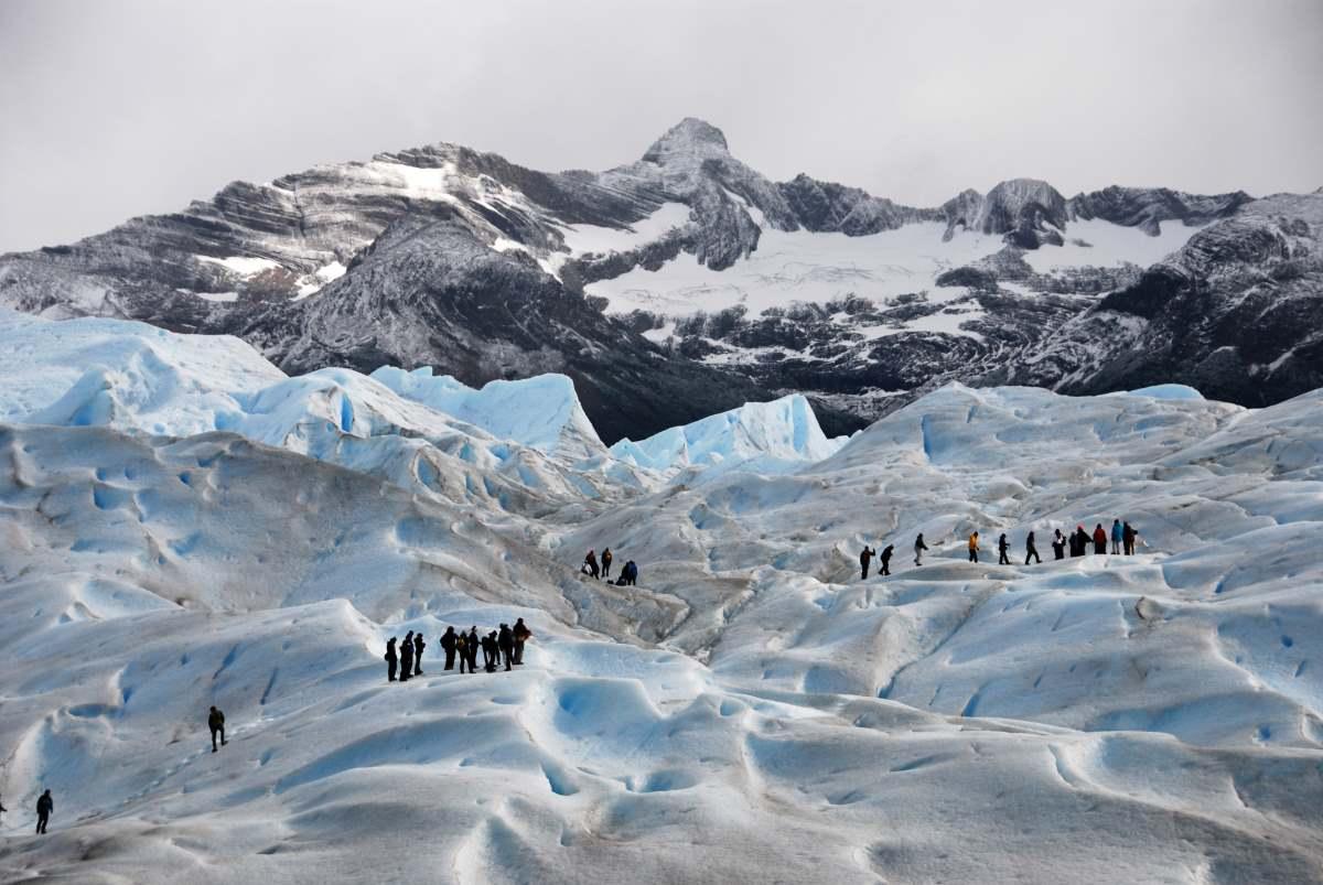 Ορειβάτες στο Perito Merino Glacier - Μεγάλο Ice tour στο Glaciers National Park, El Calafate