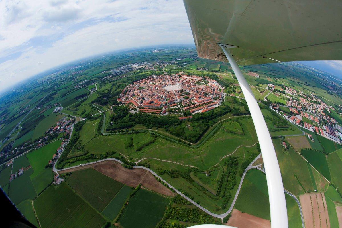Palmanova Ιταλία πόλη αστέρι