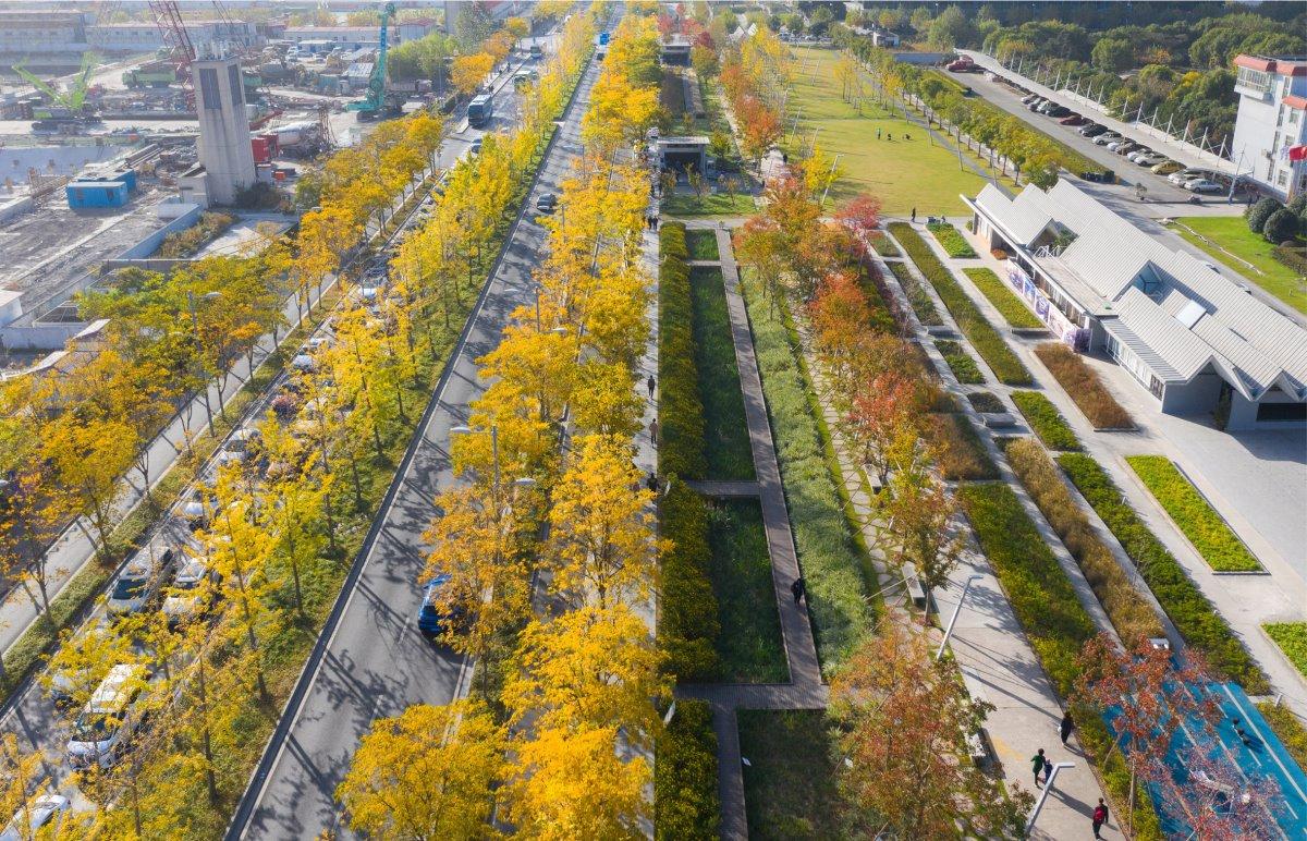 Εντυπωσιακό πάρκο στη θέση του παλιού αεροδρομίου της Σαγκάης