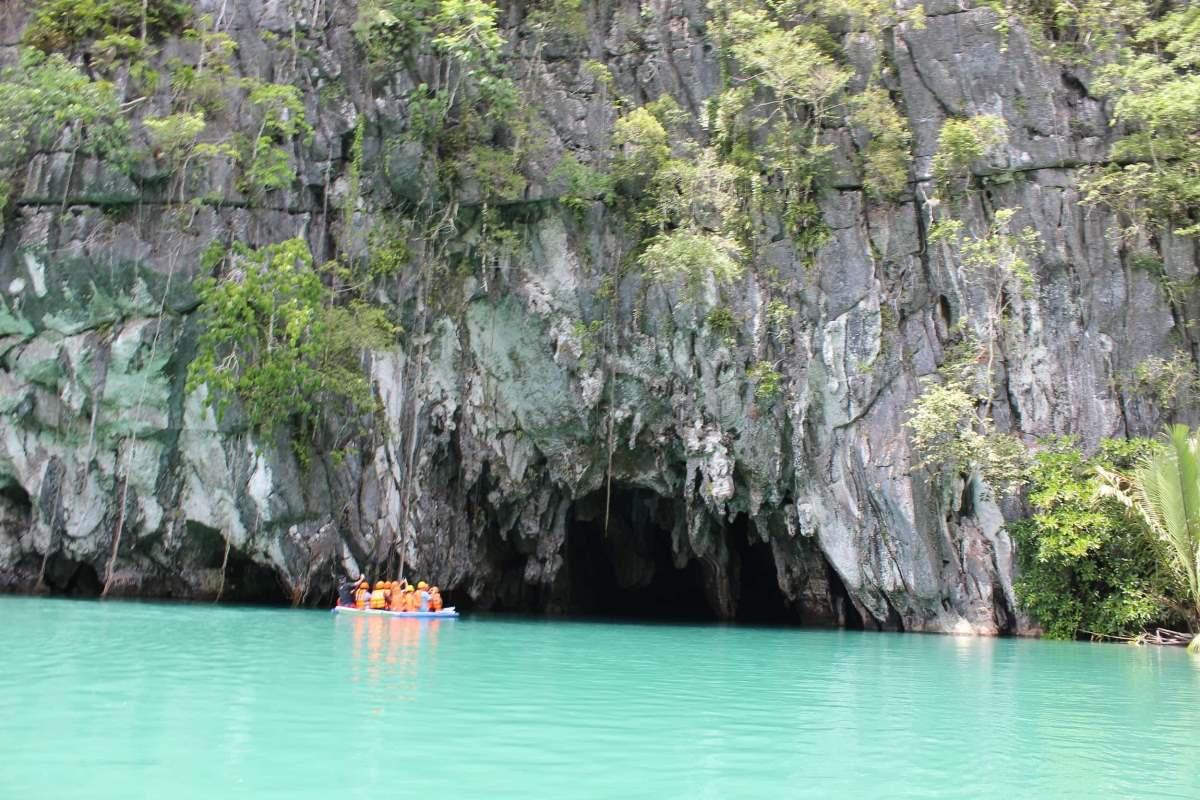 Πλωτό υπόγειο ποτάμι Puerto Princesa, Φιλιππίνες