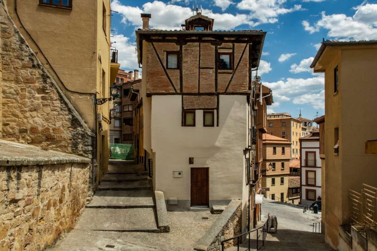 Παλιά κτήρια στη Σεγκόβια, Ισπανία