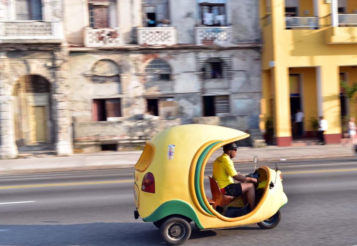 ταξι τρίκυκλο Αβάνα