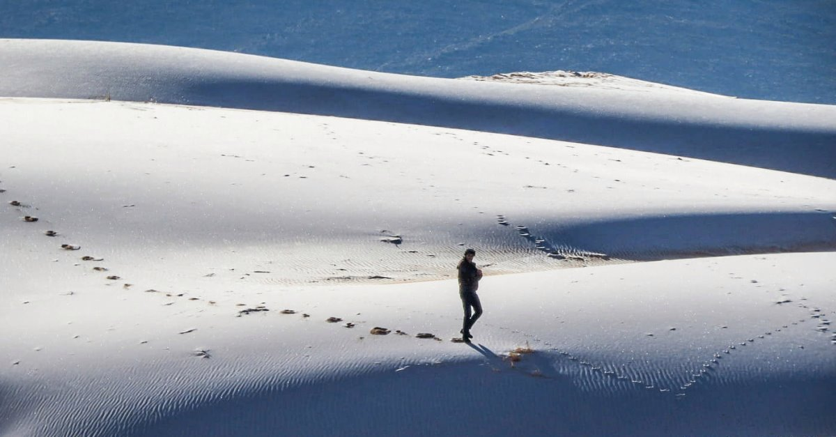 Χιόνια στη Σαχάρα σπάνιο θέαμα