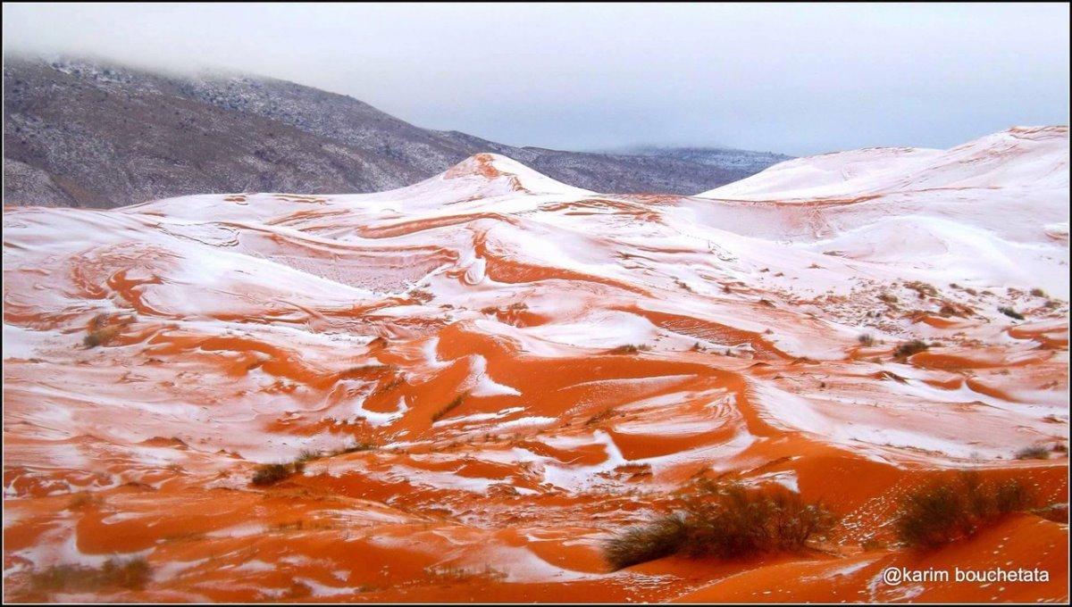 χιόνια στη Σαχάρα μετά από 50 χρόνια