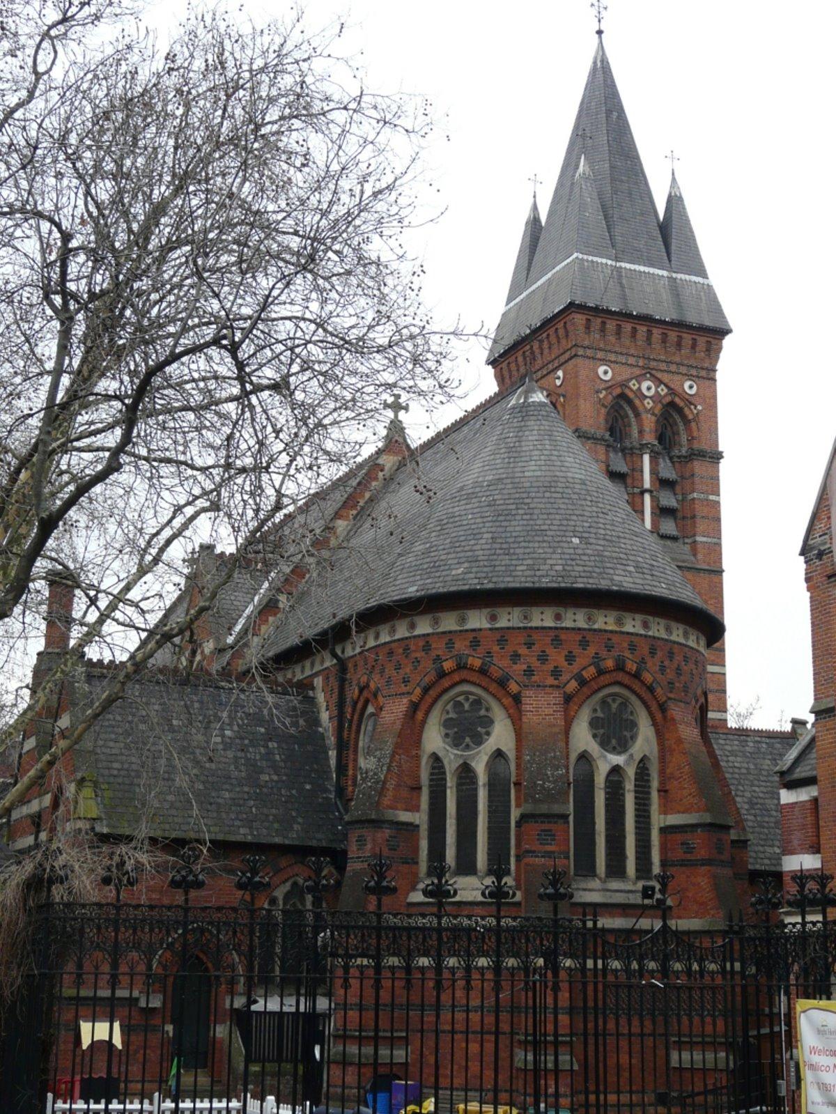 Εκκλησία St James the Less στο Λονδίνο, Αγγλία