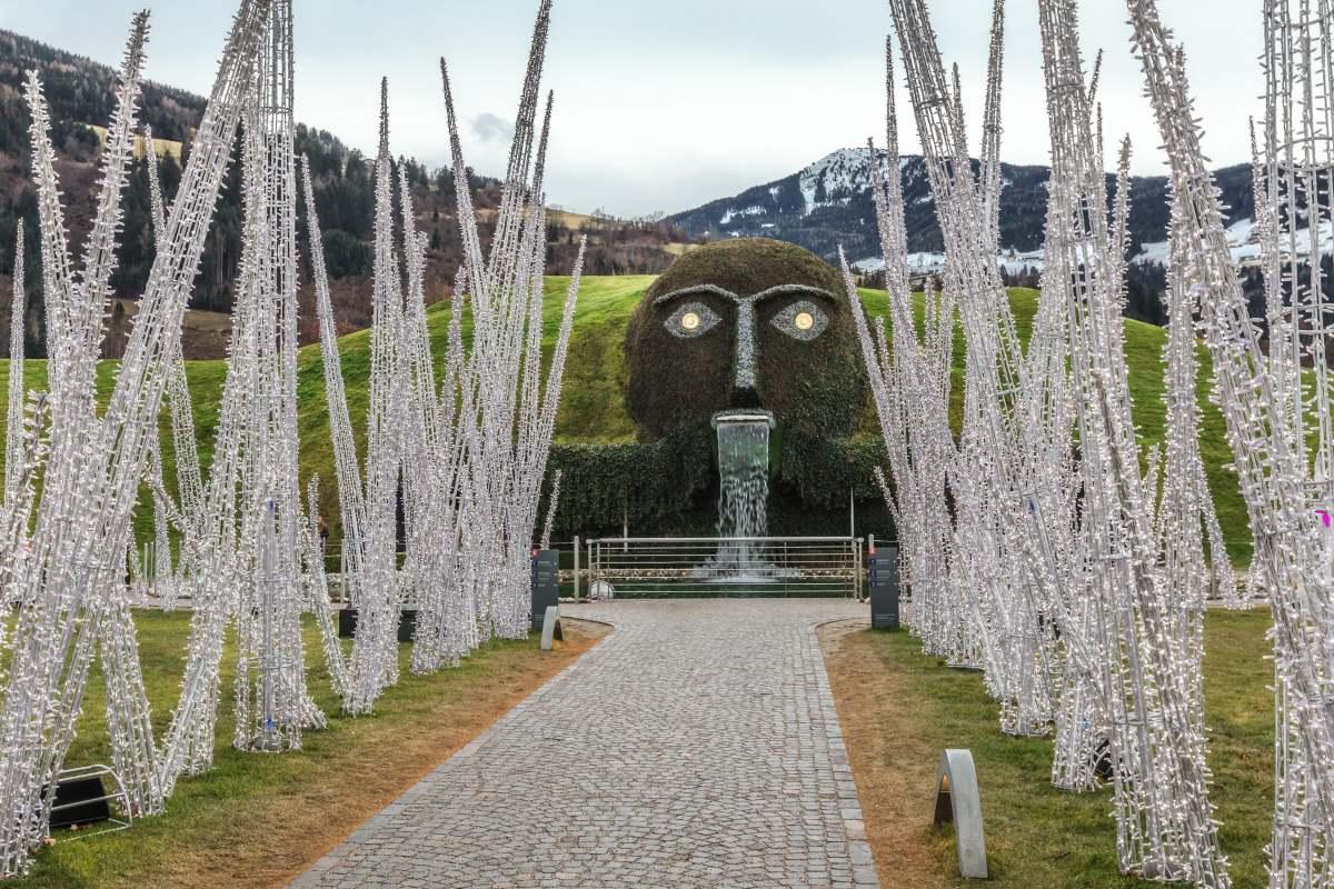 Swarovski Crystal Worlds, είσοδος, Wattens Αυστρία