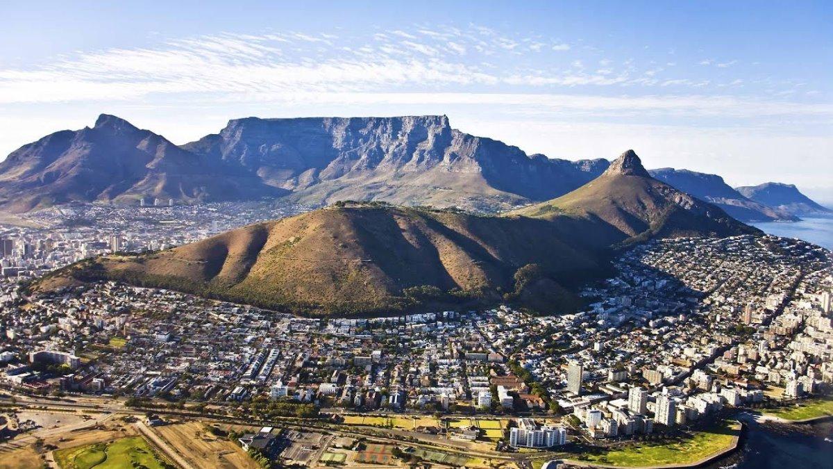 Τραπεζοειδές Όρος, Κέιπ Τάουν, Νότια Αφρική