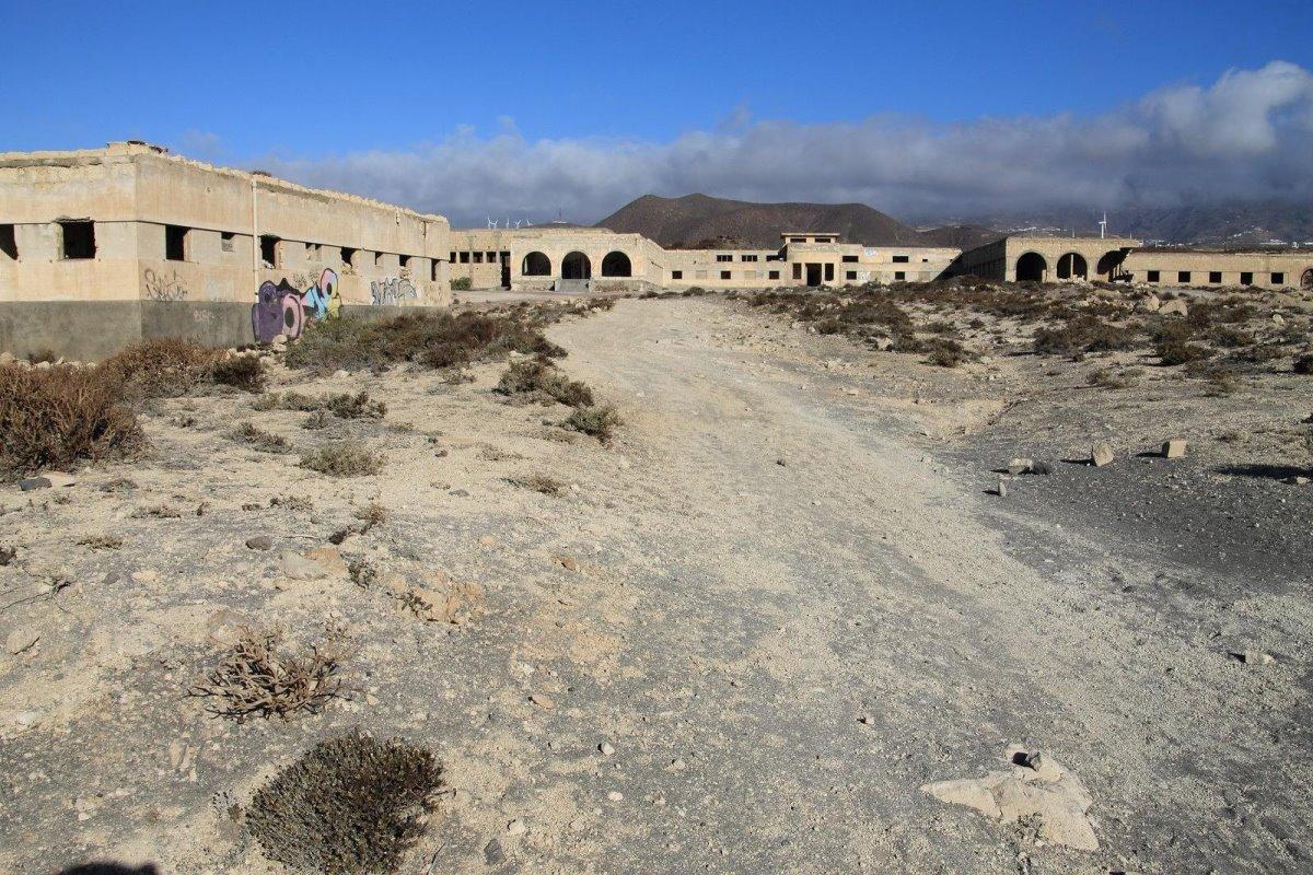 έρημη πόλη Sanatorio de Abona στην τενερίφη