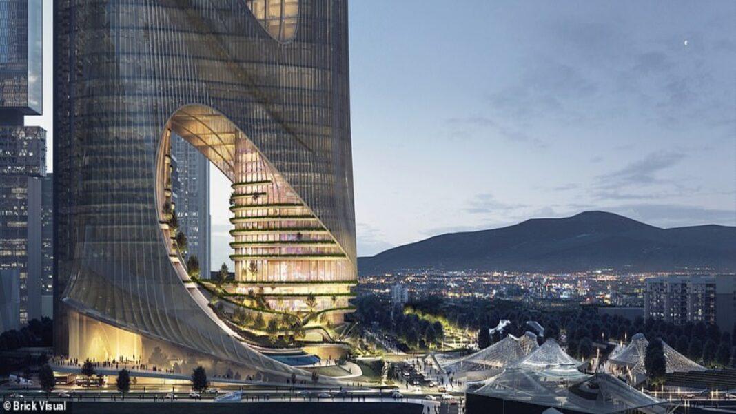 Tower C κάθετη πόλη Χονγκ Κονγκ