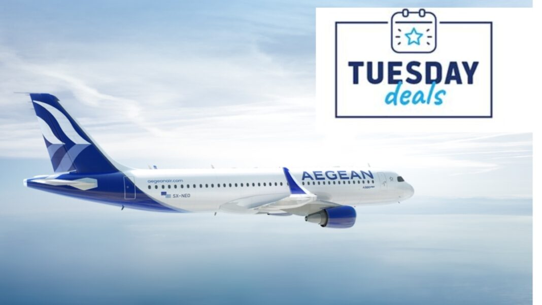 Aegean Tuesday deals