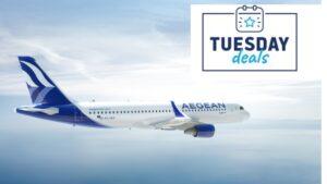 Aegean – Tuesday Deals: Ταξιδέψτε από & προς Θεσσαλονίκη με έκπτωση έως 30%!