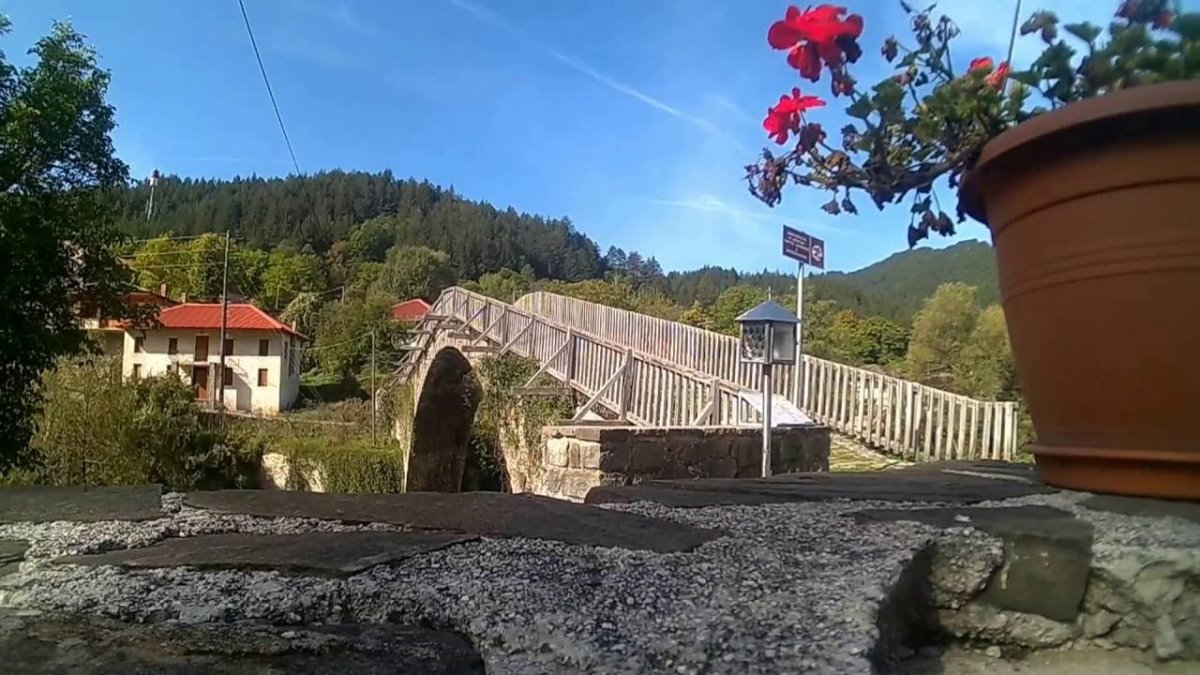 Βοβούσα Ζαγόρι ιστορικό γεφύρι