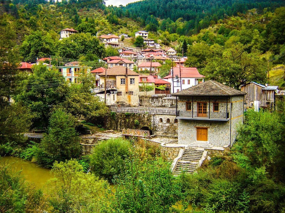 Βοβούσα Ζαγόρι παραδοσιακά σπίτια