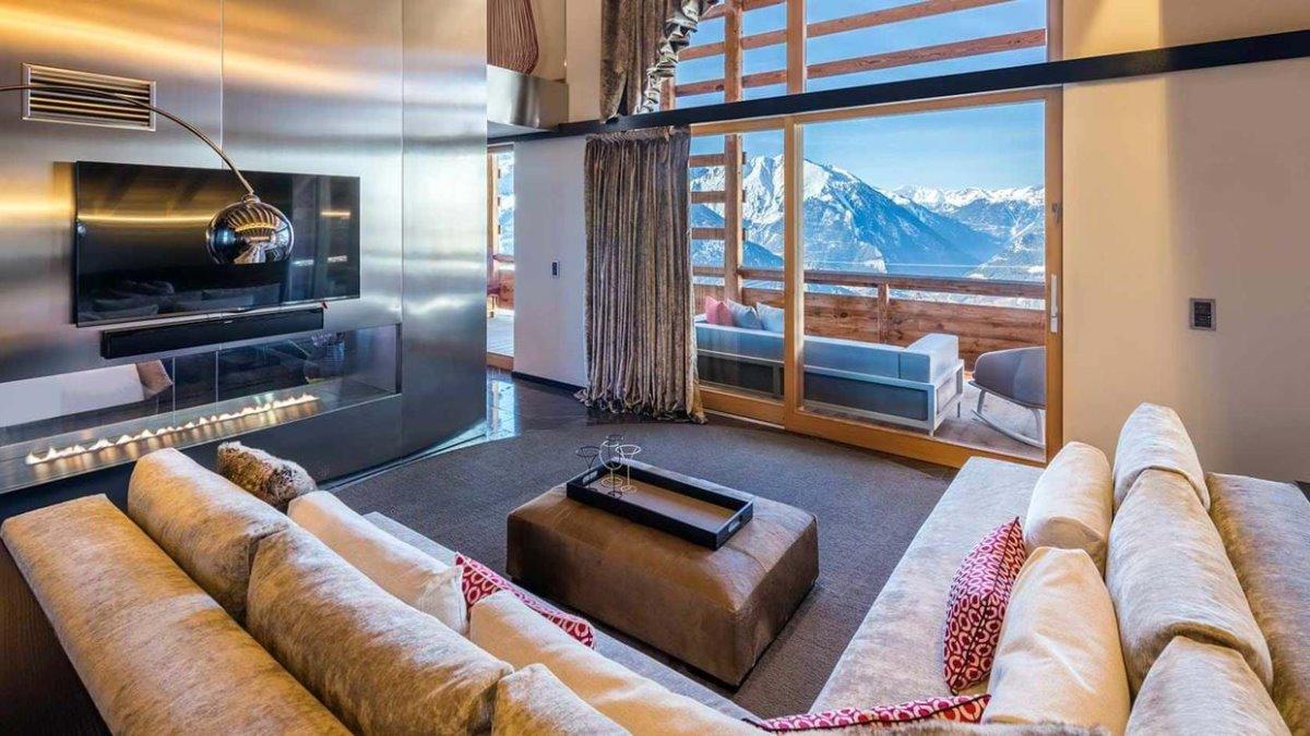 Σουίτα στο Werbier καλύτερο ski hotel Ελβετία