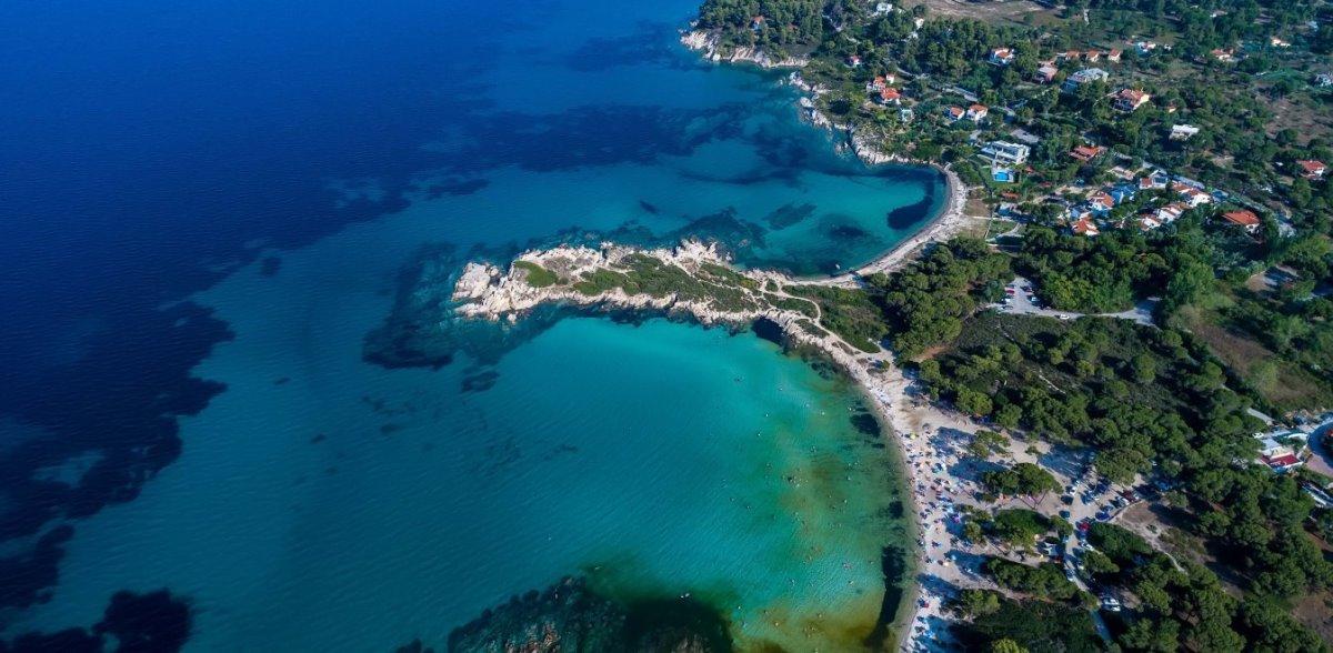 Χαλκιδική δημοφιλής προορισμός ξένων τουριστών