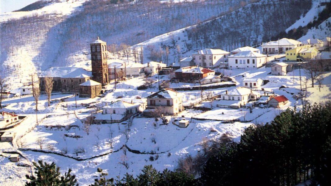 χιόνια Ελλάδα κακοκαιρία Μήδεια
