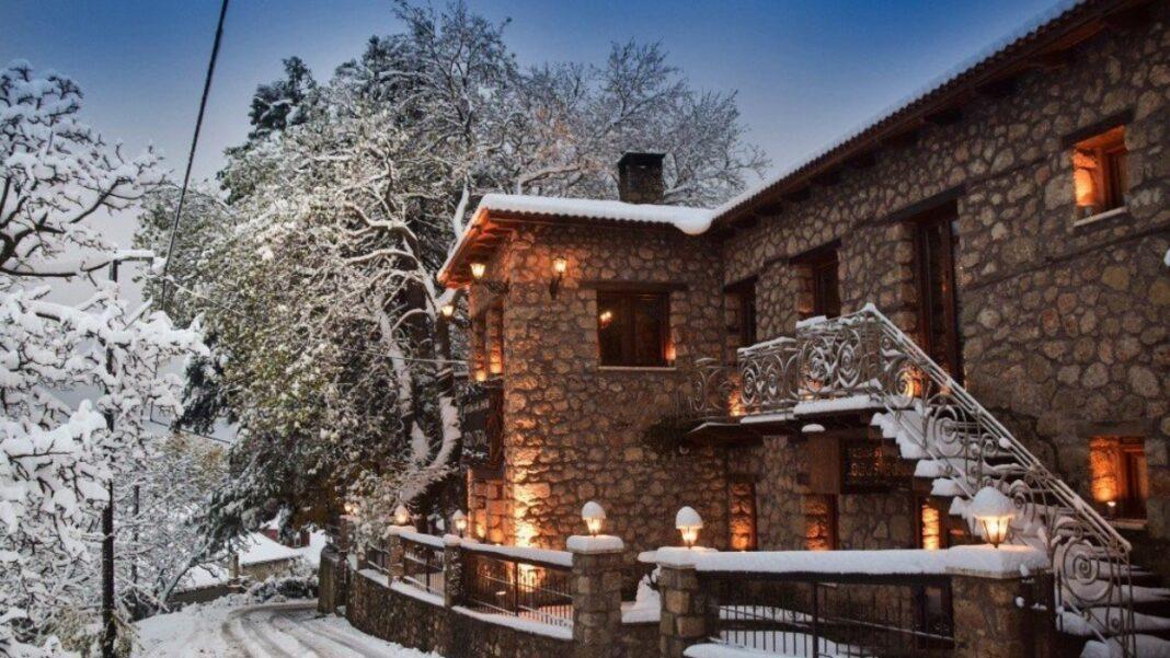 Χιονισμένη Ελλάδα