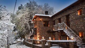 """Ο """"Λέανδρος"""" έφερε χιόνια αλλά και υπέροχες εικόνες από την Ελλάδα – Τοπία βγαλμένα από παραμύθι!"""