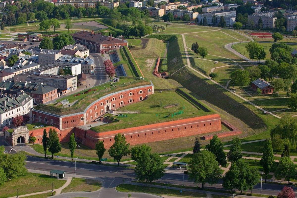 Zamosc Πολωνία πόλη-αστέρι