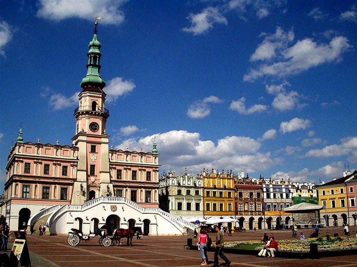 Zamosc πόλη-αστέρι στην Ευρώπη