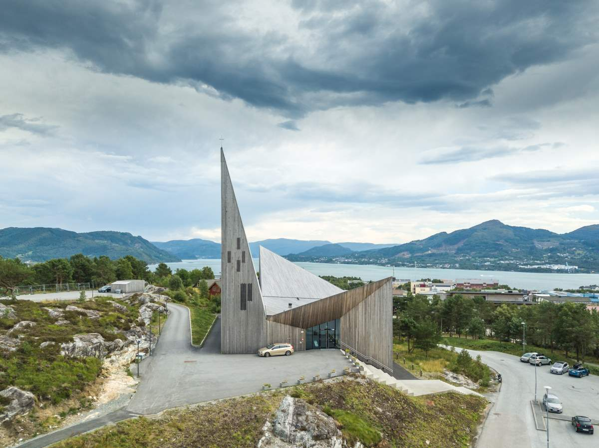 Church of Knarvik, Νορβηγία