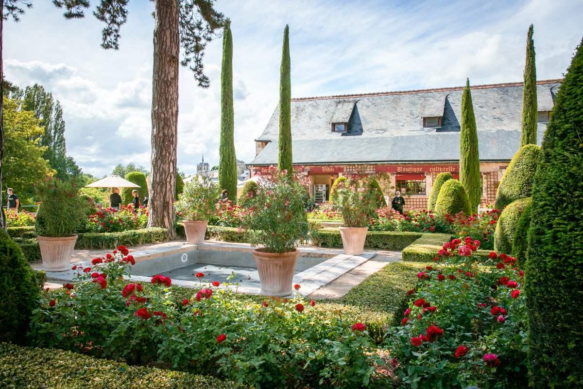 Clos Lucé Γαλλία, κήπος