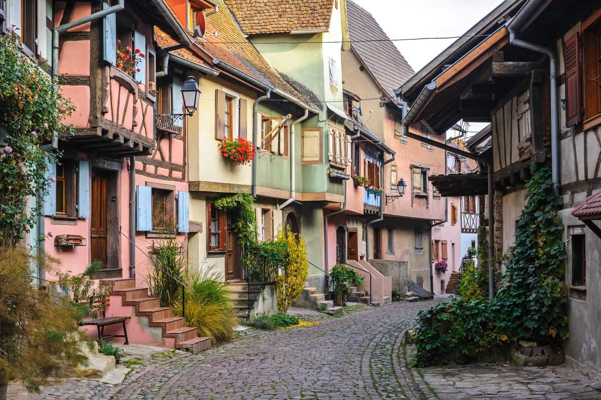 Eguisheim, Γαλλία, σοκάκια