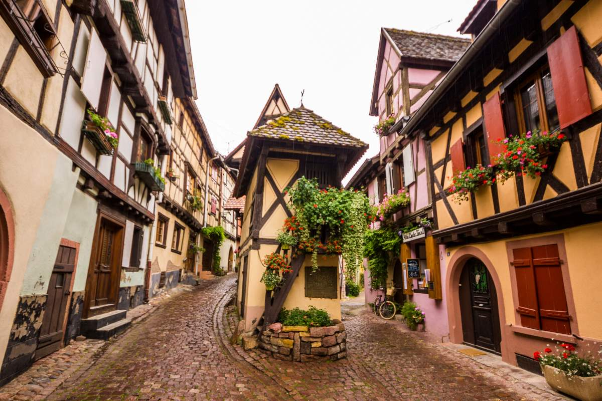 Eguisheim, χωριό Γαλλία
