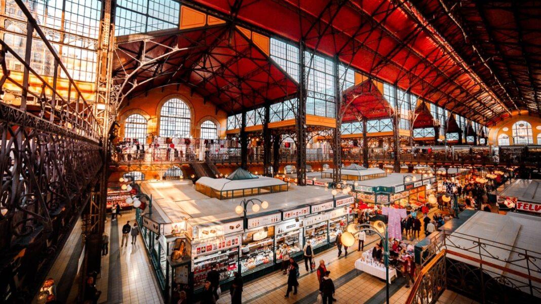 κεντρική αγορά Βουδαπέστη