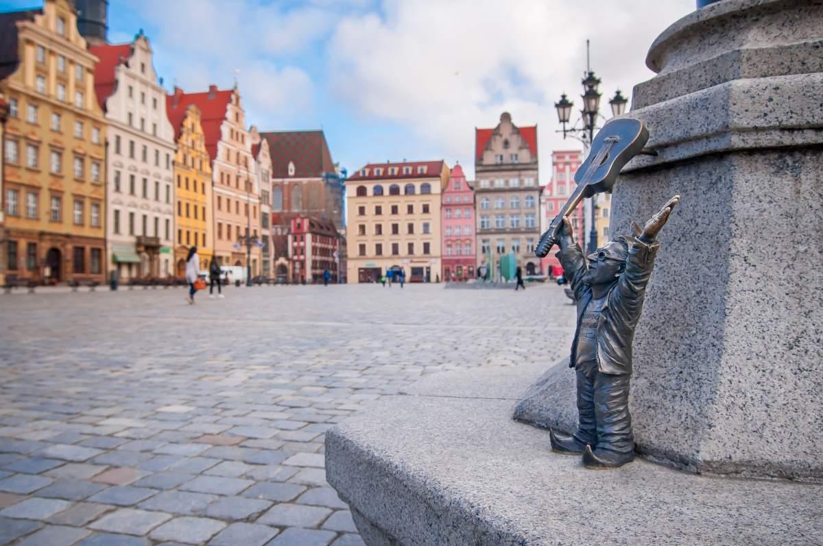 Βρότσλαβ Πολωνία, πλατεία