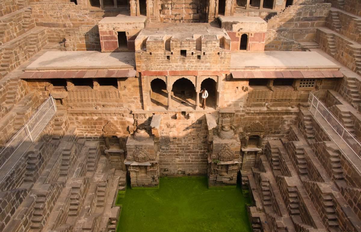 Rajasthan, Ινδία, σκάλες