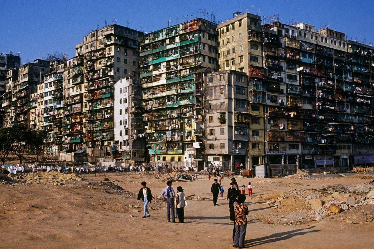 Kowloon πόλη παρανόμων Χονγκ Κονγκ